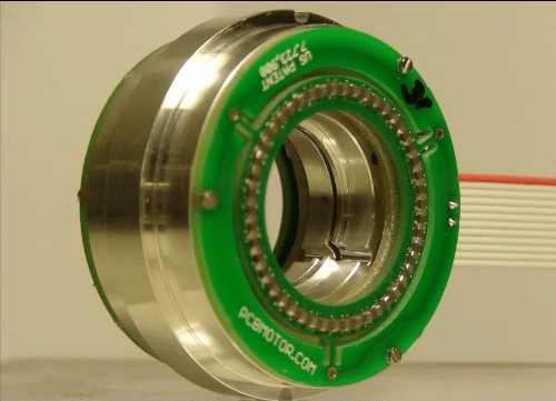 Slimline Hollow Center Motors With Ultra High Resolution